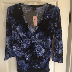 Ann Taylor blouse size L petite